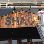 Logo Enhancement for the Shack in Bude
